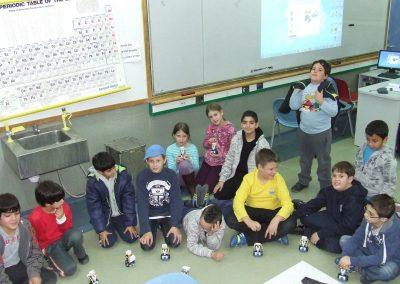 רובוטים חמקניים במרחבים